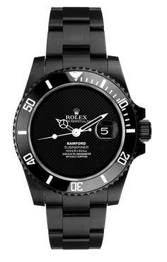 ROLEX - black/watch