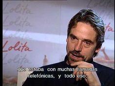 Jeremy Irons interview - Lolita (1997) - Spanish subtitles