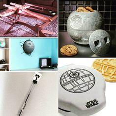 Merchandising de Star Wars crees que hay de todo? Siempre hay algo nuevo. #bolígrafo #mesa #xwing #starwars #starwarstheforceawakens #starwarseverywhere #galletas #creps