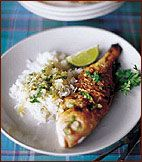 Grilled Fish with Sauce au Chien Recipe on Food & Wine