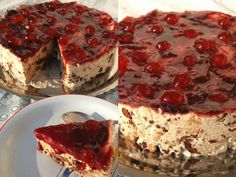 Cold Desserts, Delicious Desserts, Yummy Food, Cake Recipes, Dessert Recipes, Greek Recipes, No Bake Cake, Food To Make, Sweet Tooth