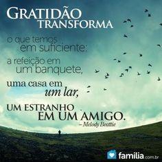 A gratidão