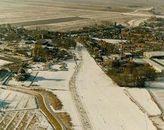 Luchtfoto IJlst (jaartal: 1980 tot 1990) - Foto's SERC