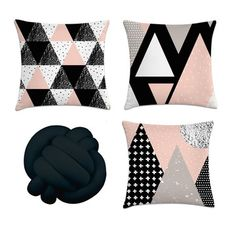 Cute Pillows, Diy Pillows, Decorative Pillows, Glitter Room, Glamour Decor, Small Apartment Decorating, Dream Rooms, New Room, Bed Design