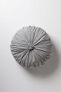 Rosette Round Pillow / Anthropologie.com #relax #calm
