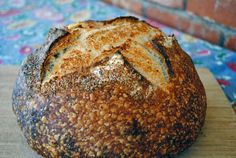 TOASTED WHEAT-GERM AND SAGE SOURDOUGH