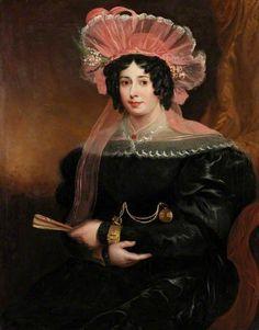 """ Mrs Richard Grainger, attributed to James Ramsay, ca 1827 UK, Laing Art Gallery """