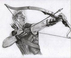 Hawkeye by Pencilsketches on DeviantArt Hawkeye, Avengers Drawings, Avengers Art, Marvel Comic Books, Marvel Dc Comics, Superhero Sketches, Marvel Fan Art, Arte Sketchbook, Clint Barton