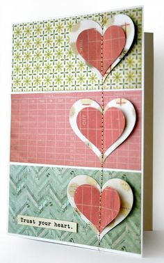 Card: Trust Your Heart | Cosmo Cricket