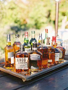 Bourbon bar | Photography: Lane Dittoe - lanedittoe.com View entire slideshow: Kentucky Derby Wedding Details We Love on ...