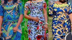 2021 AFRICAN FASHION COLLECTION: MOST STYLISH AND FLAWLESS AFRICAN ASO E... Long Ankara Dresses, Ankara Skirt And Blouse, African Print Dresses, African Fashion Dresses, African Dress, Short Sleeve Dresses, Aso Ebi, Ankara Styles, Asos