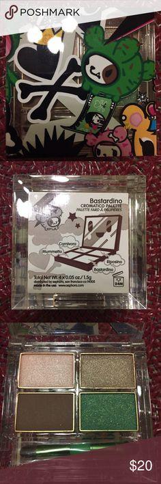 Tokidoki Bastardino Eyeshadow Palette Never used or swatched! From Sephora, charm included tokidoki Makeup Eyeshadow