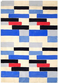 Sonia Delaunay, fabric design by BoFransson, via Flickr