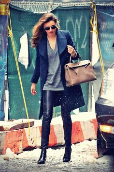 Miranda Kerr steps out with her son