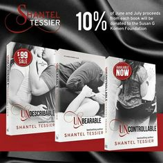 The Complete Undescribable series by Shantel Tessier... AWESOME ♡☆♡☆♡☆