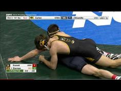 2017 NCAA Wrestling 141lbs: Jaydin Eierman (Missouri) vs Logan Everett (Army)