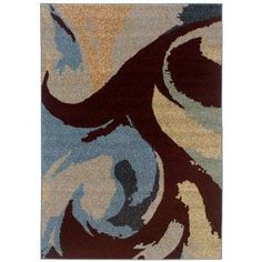LR Resources Reflections Summer 7 ft. 10 in. x 11 ft. 2 in. Plush Indoor Area Rug-LR152888-811 at The Home Depot