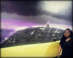 This is BOROBUDUR TEMPLE in INDONESIA  you like oppa @choi_seung_hyun_tttop @peaceminusone #art1museum #art #museum #galeri #jendela #rumah #kita #jakarta #latepost #utara #kemayoran #black #dress #allstar #blackwhite #shoes #ring #borobudurtemple #indonesia #jawatengah #java #centerjava by lisapertiwi