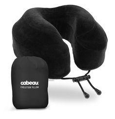 Cabeau Evolution Memory Foam Travel Pillow - The Best Neck Pillow with 360 Head and Neck Support ** Tried it! Love it! Click the image.(This is an affiliate link and I receive a commission for the sales) : Travel accessories