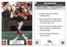 """Joe Montana 1987 Wheaties 12 Mini-Poster (5""""x7"""")"""