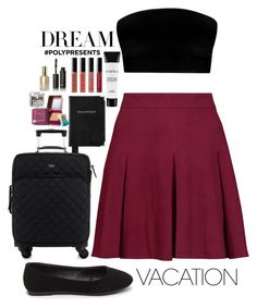 """""""#PolyPresents: Dream Vacation"""" by elsa-ebervik on Polyvore featuring Alice + Olivia, Aspinal of London, Kate Spade, Smashbox, Bobbi Brown Cosmetics, Benefit, Burberry, Stila, contestentry and polyPresents"""