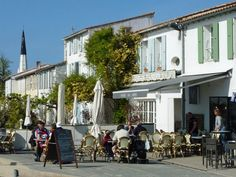 Ile de Re, France. Ars en Re is the town.