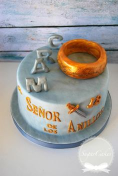 The Lord of Rings cake