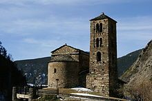 Sant Joan de Caselles church, dating from the 11th century