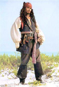 johnny depp jack sparrow pirates of the caribbean white shirt shirt Johnny Depp, Captain Jack, Costume Jack Sparrow, Jack Sparrow Quotes, Images Disney, Diy Halloween Costumes For Women, Pirate Life, Halloween Disfraces, Film Serie