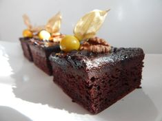 Cuketové šťavnaté brownies
