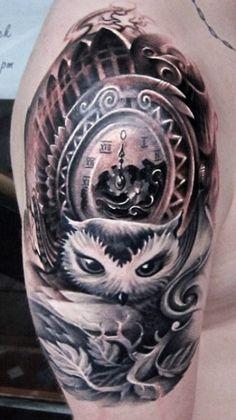 Tattoo Artist - Piotr Deadi Dedel - Time tattoo