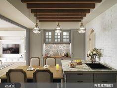 陶璽空間設計 美式風設計圖片陶璽_29之17-設計家 Searchome Ceiling Design, Restaurant Design, Interiors, Kitchen, Furniture, Home Decor, Roof Design, Cooking, Decoration Home