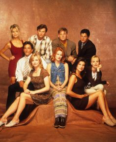 Melrose Place was a spin-off from Beverly Hills 90210 - this show welcomed the with primetime soap operas. It was intense :) Diane Keaton, 90s Tv Shows, Movies And Tv Shows, Meryl Streep, Polly Pocket, Laura Leighton, Back In The 90s, Melrose Place, Beverly Hills 90210