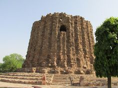 Alai Minar - the unfinished monument by a cruel Indian King   #IndianColumbus  http://indiancolumbus.blogspot.com/2016/02/alai-minar.html