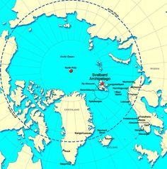Svalbard Archipelago Map