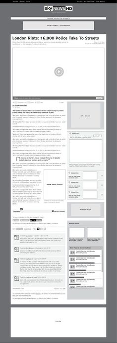 Free Photoshop Wireframe Kit \u2014 Rafal Tomal Web Design  Resources
