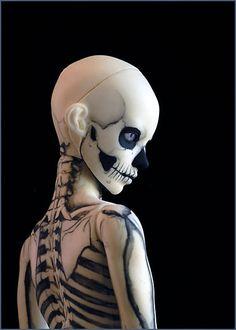 skeleton!boy profile by Zagzagael, via Flickr