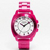 Coach Boyfriend rubber strap watch ..  love it .....