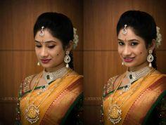 Beautiful telugu bride