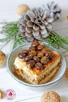 ciasto chałwowe bez pieczenia Tiramisu, French Toast, Breakfast, Ethnic Recipes, Food, Cakes, Rezepte, Food Cakes, Meal