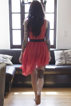 Tattooed Brunettes | Inked Magazine