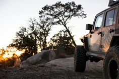 Sun is setting on this Line-Xed #3DCustom #JeepWrangler #LineXIt