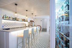 Restaurant | Maori series | Vives Ceramica | Benicarló Tiles, Vanity, Flooring, Mirror, Bedroom, Interior, Kitchen, Furniture, Home Decor