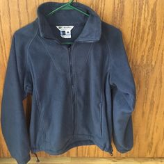 Women's size small Columbia fleece jacket Blue fleece Columbia Jackets & Coats