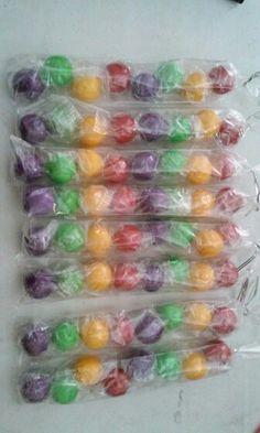 Teletubbies Theme Party: gumball baggies!!!
