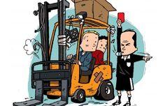 Consejos de seguridad para utilizar carretillas elevadoras en el exterior / Cadena de Suministro