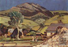 Martin Benka, Motív od Ľubochne 1920 - 1929
