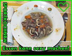 """""""Liebe geht durch den Magen"""" oder wenn das Essen sexy macht!:   Frische Ingwer-Hühnerherzensuppemit Champions un..."""