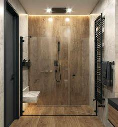 Bathroom Design Luxury, Modern Bathroom Decor, Bathroom Layout, Modern Bathroom Design, Bathroom Styling, Small Bathroom, Bathroom Goals, Interior Design Career, Beton Design