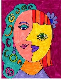 PICASSO INSPIRED ART ACTIVITY, Mais